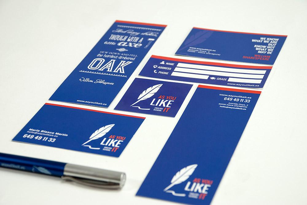 Branding, papelería corporativa y sitio web para As you like it - Branding, Diseño Editorial