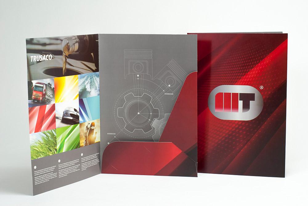 Piezas comerciales para MT Lubricantes - Diseño Editorial