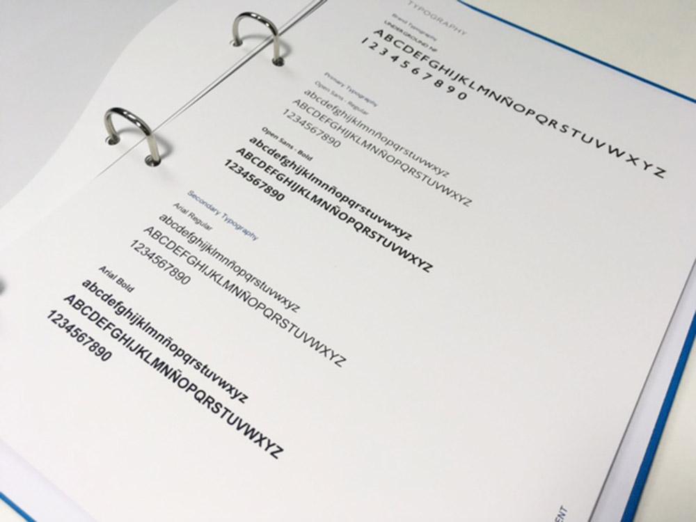 Manual de identidad para China Ideal - Branding