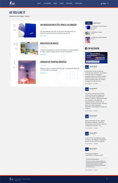 Captura: Branding, papelería corporativa y sitio web para As you like it