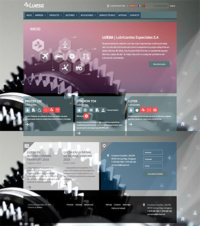 Captura: Sitio web de Luesa