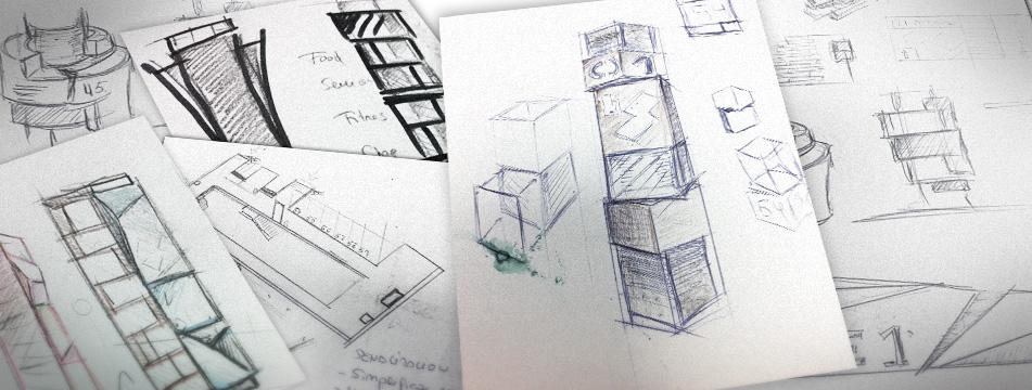 Señalética de Residencial Paraíso - 3D, Gráfico, Industrial