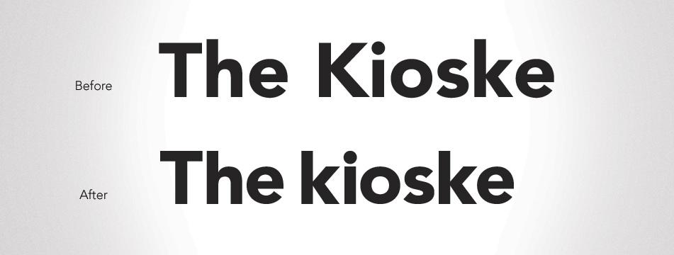 Imagen para The Kioske - Branding
