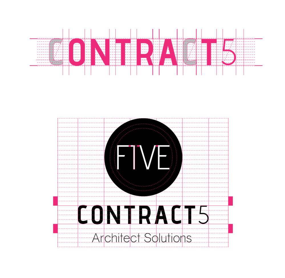 Imagen corporativa de Contract5 - Branding