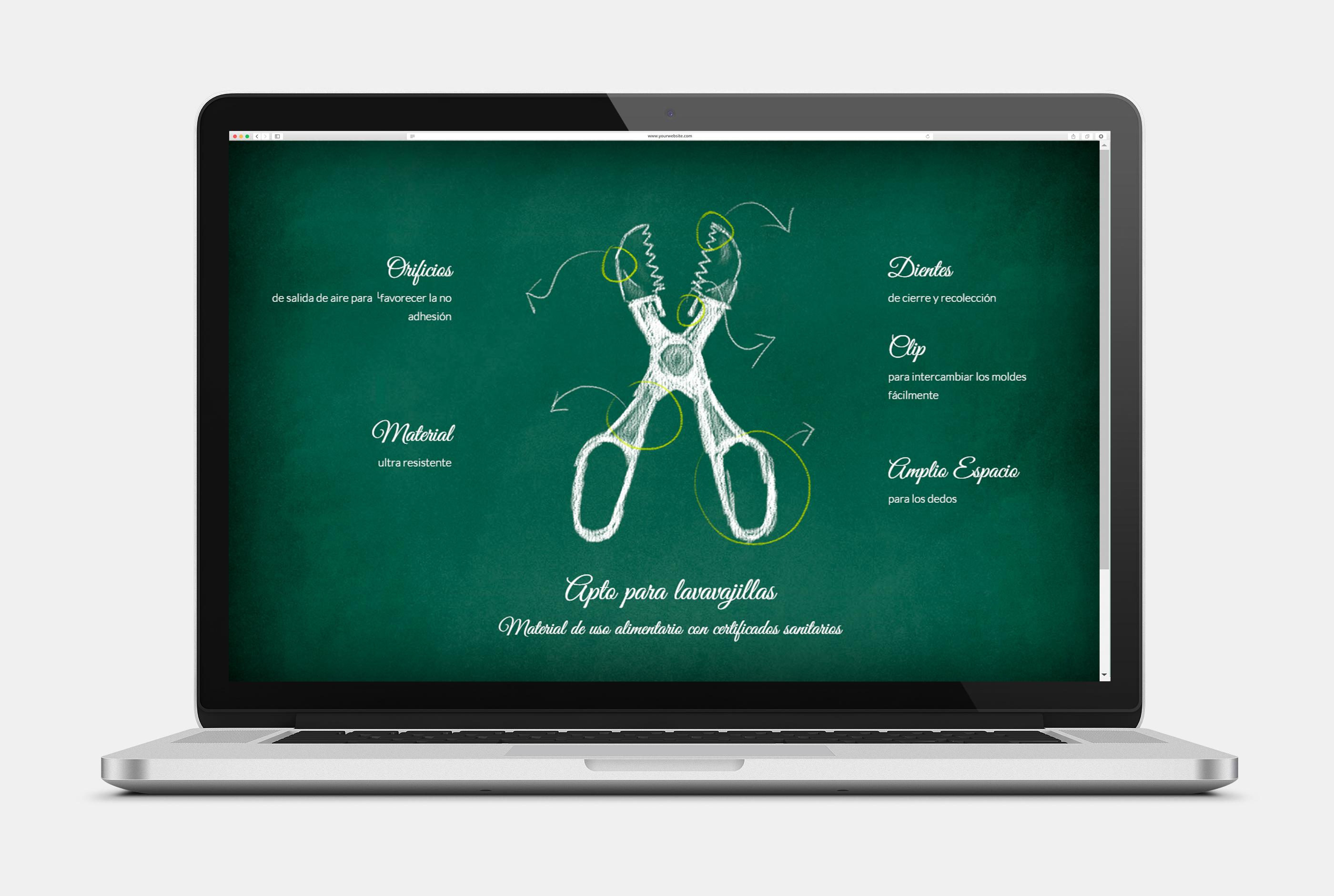 Sitio web para La Croquetera - Web