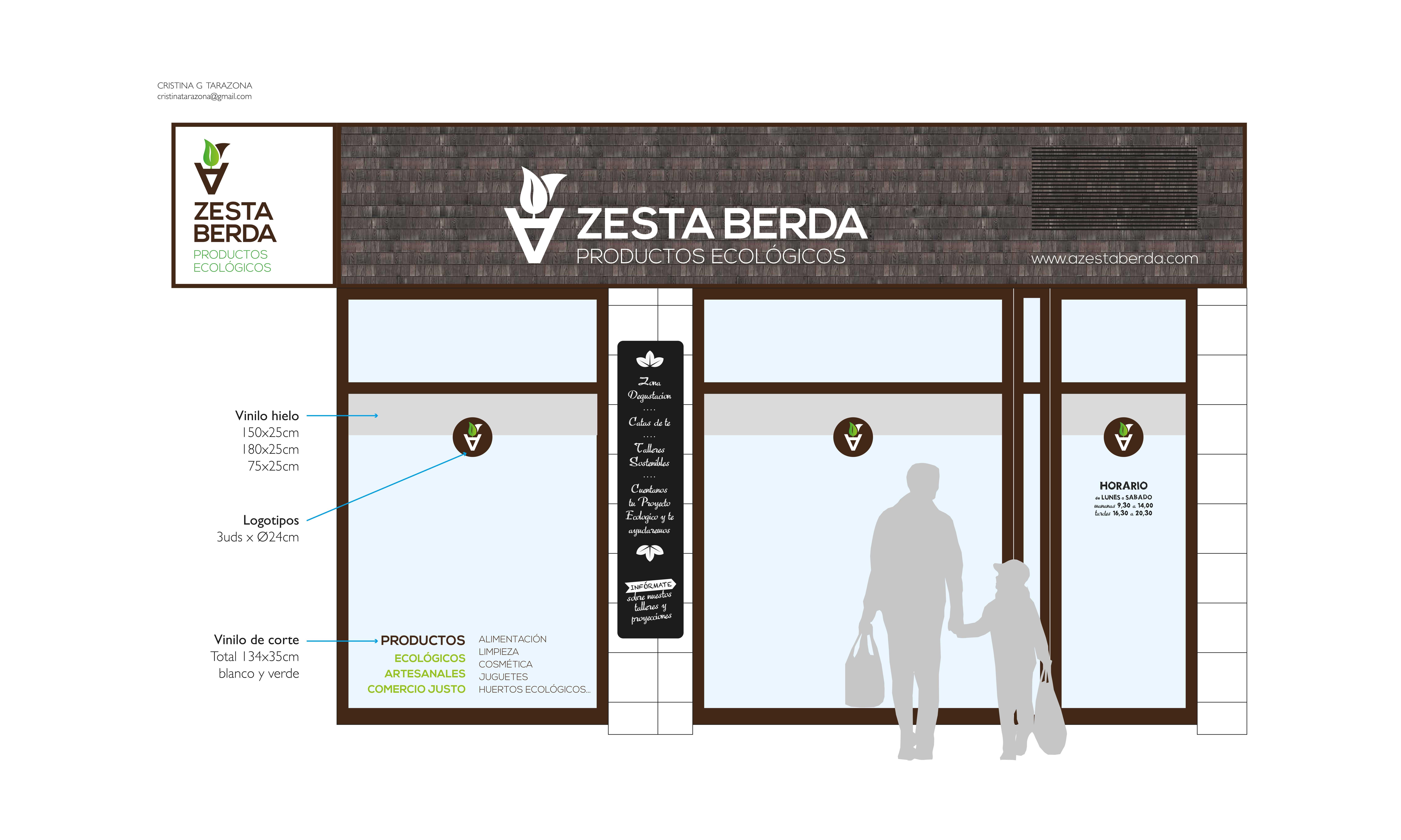 A Zesta Berda - Branding