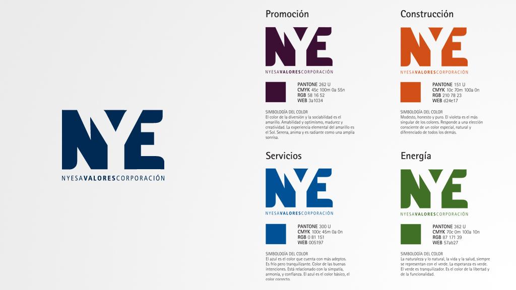 NYE - 3D, Branding