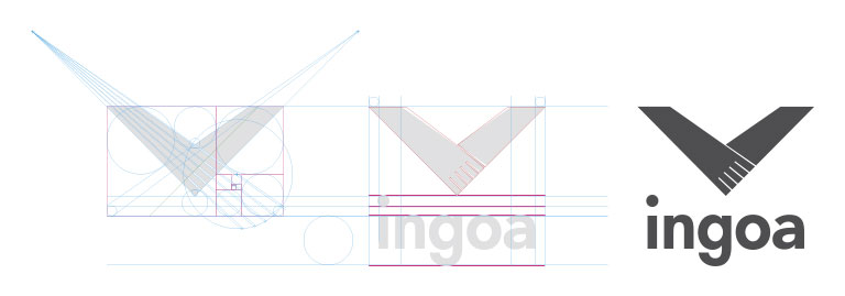 Ingoa - Branding, Gráfico