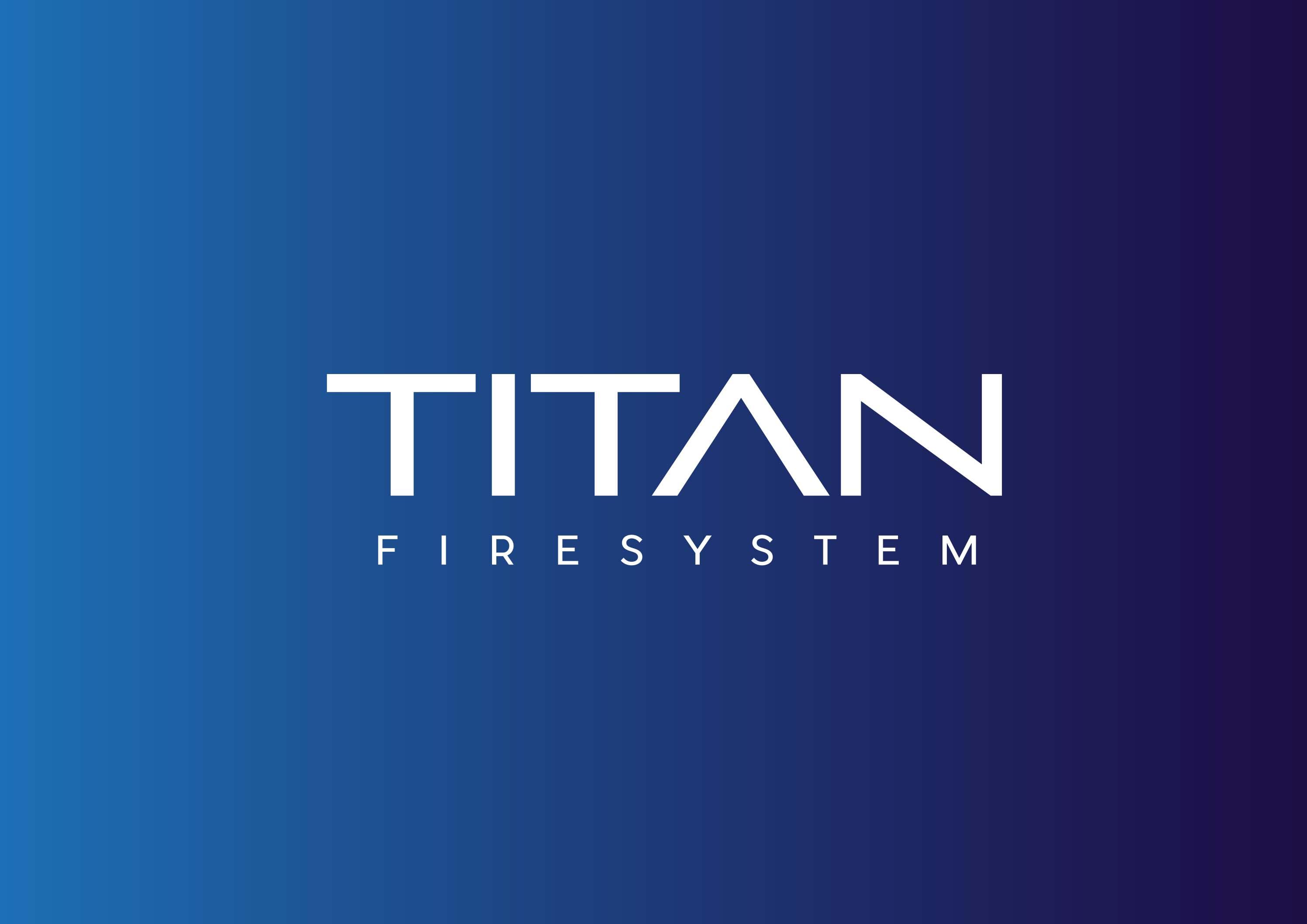 Imagen corporativa y aplicaciones Titan Fire System - Gráfico