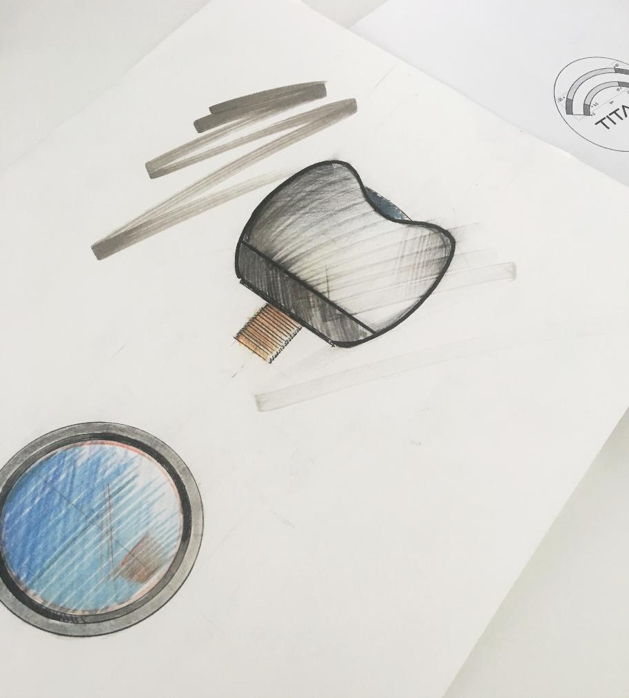 Diseño de producto Titan Fire System - Diseño de producto
